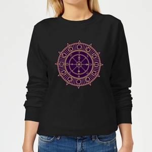 Wheel Of Fortune Women's Sweatshirt - Black