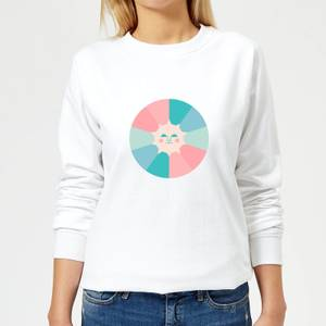 Colours Of The Day Women's Sweatshirt - White