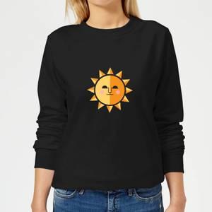The Sun Women's Sweatshirt - Black