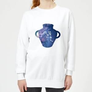 Aquarius Women's Sweatshirt - White