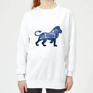 Leo Women's Sweatshirt - White