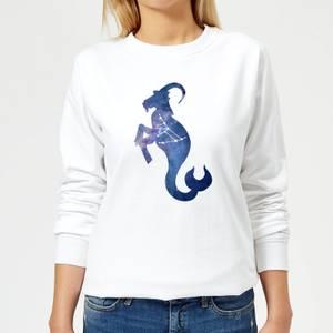 Capricorn Women's Sweatshirt - White