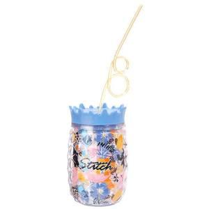 Disney Lilo & Stitch Stitch Cup with Straw