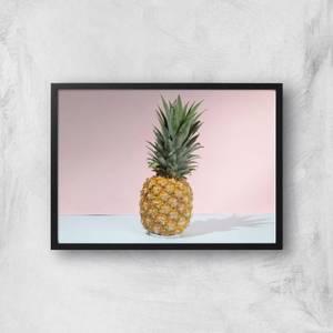 Pastel Pineapple Giclee Art Print