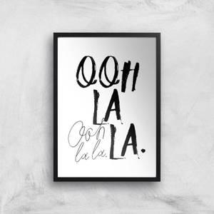 Ooh La La Giclee Art Print