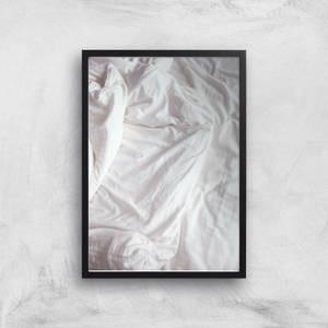 Bed Giclee Art Print