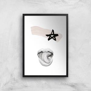 Star Man Giclee Art Print