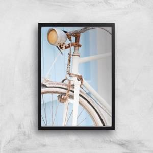 Rusty Bicycle Giclee Art Print