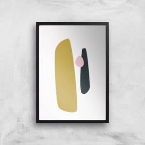 Stockholm Yellow Giclee Art Print