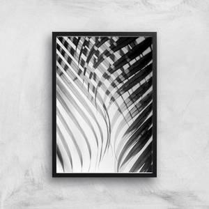 Tropical Curtain Giclee Art Print
