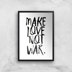 Make Love Not War Giclee Art Print