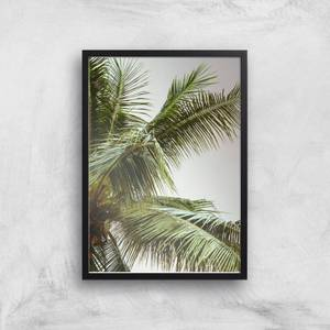 Palm Trees Above Me Giclee Art Print