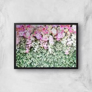 Flower Carpet Giclee Art Print