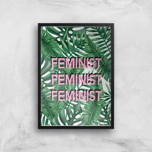 Feminist Giclee Art Print