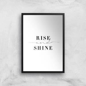 Rise And Shine Giclee Art Print