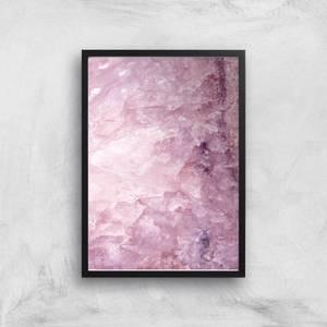 Rose Quartz Giclee Art Print