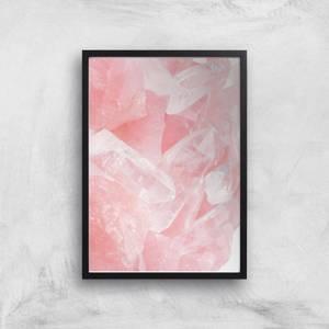 Love Quartz Giclee Art Print