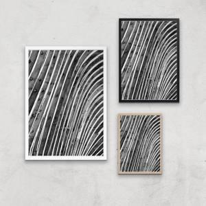 Wood Waves Giclee Art Print