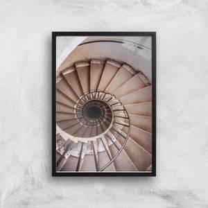 Spiralling Giclee Art Print