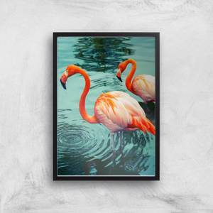 Flamingo Giclee Art Print