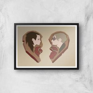 Sea Of Thieves Valentines Heart Art Print Giclee Art Print