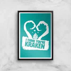 Sea Of Thieves I Think You're Kraken Print Giclee Art Print