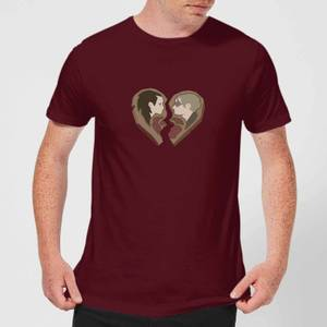 Sea Of Thieves Heart Tee T-Shirt - Burgundy