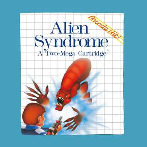 SEGA Alien Syndrome Fleece Blanket
