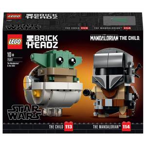 LEGO BrickHeadz Star Wars: The Mandalorian & The Child (75317)