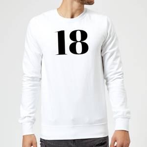18 Sweatshirt - White
