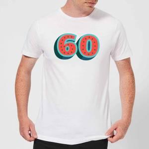 60 Dots Men's T-Shirt - White