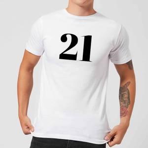 21 Men's T-Shirt - White