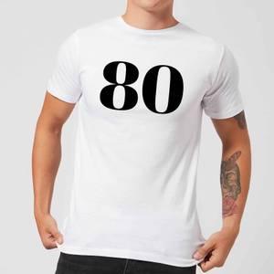 80 Men's T-Shirt - White