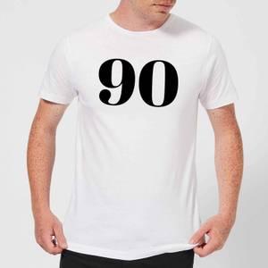 90 Men's T-Shirt - White