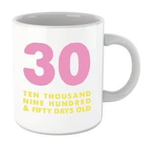 30 Ten Thousand Nine Hundred And Fifty Days Old Mug