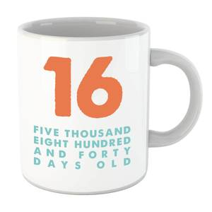 16 Five Thousand Eight Hundred And Forty Days Old Mug