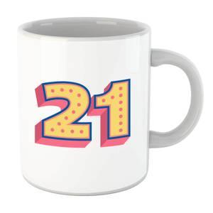 21 Dots Mug
