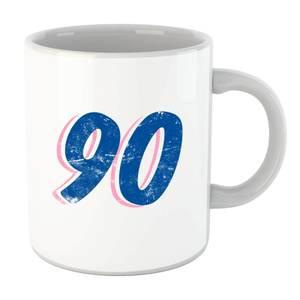 90 Distressed Mug