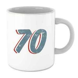70 Distressed Mug