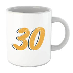 30 Distressed Mug