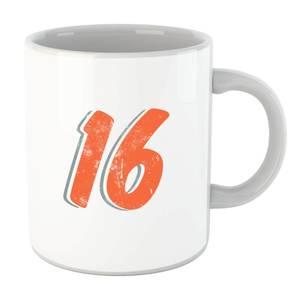 16 Distressed Mug