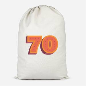 70 Dots Cotton Storage Bag