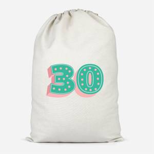 30 Dots Cotton Storage Bag