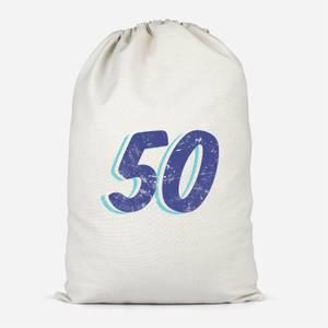 50 Distressed Cotton Storage Bag