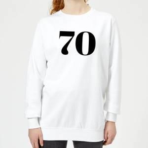 70 Women's Sweatshirt - White