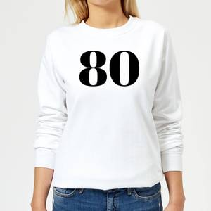 80 Women's Sweatshirt - White