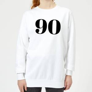 90 Women's Sweatshirt - White