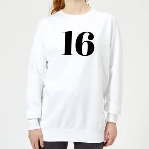 16 Women's Sweatshirt - White
