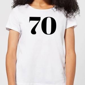 70 Women's T-Shirt - White