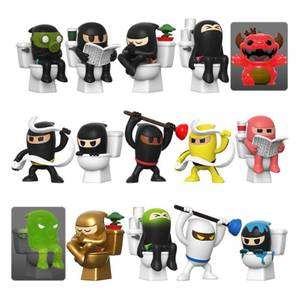 Paka Paka: Toilet Ninjas Mystery Figure